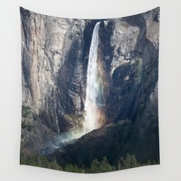 Bridalveil Falls, Yosemite California Wall Tapestry