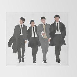 Beatle s #2 Throw Blanket