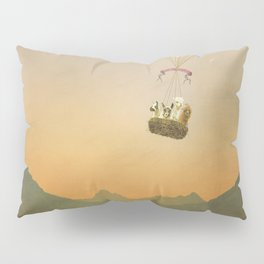NEVER STOP EXPLORING V (THE MOUNTAINS) Pillow Sham