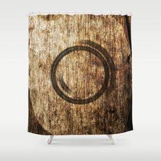 Around Us Shower Curtain