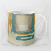 rothko Wall Tapestries featuring Soft And Bold Rothko Inspired Coffee Mug Art Print by Corbin Henry