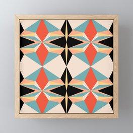 abstract geometric design for your creativity    Framed Mini Art Print