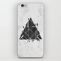 edm iPhone & iPod Skins featuring PLACE Triangle V2 by Sitchko Igor