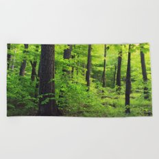 Forest 2 Beach Towel