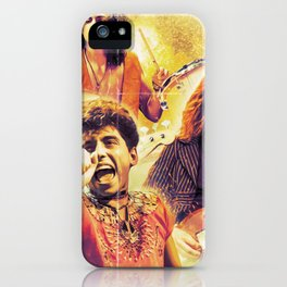 Greta Van Fleet march of the peaceful army tour 2019 sil2 iPhone Case