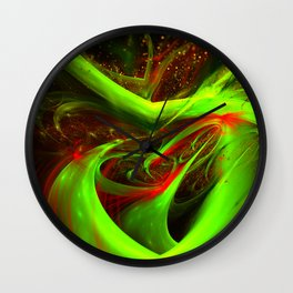 Abstract concoction Wall Clock