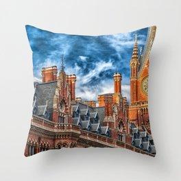 London Architecture Throw Pillow