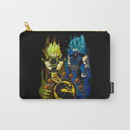 Goku & Vegeta in Mortal Combat cosplay colour Carry-All Pouch