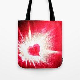 Heart boom Tote Bag