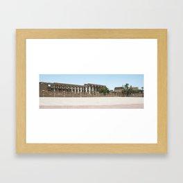 Temple of Luxor, no. 25 Framed Art Print
