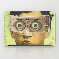 creepy iPad Cases featuring UNCLE CREEPY by Julia Lillard Art