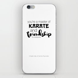 Charlie Kelly & Dennis Reynolds - Typography iPhone Skin