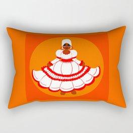 ¡Baile Mai! Rectangular Pillow