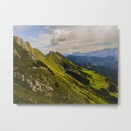 Musical Mountains Metal Print