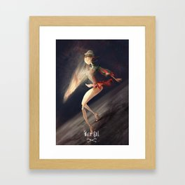Folk Bol Framed Art Print