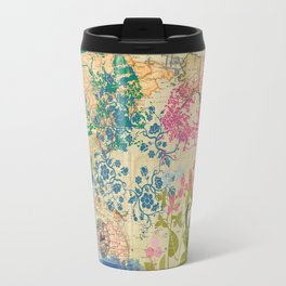 India TajMahal Bamboo Agra Travel Mug