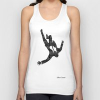 camus Tank Tops featuring camus by Taylor Free