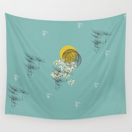 Seasons Time Space Wall Tapestry