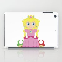 princess peach iPad Cases featuring Princess Peach by Xiao Twins
