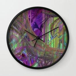 Daily Design 64 - Warlock Mainframe Wall Clock