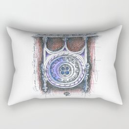 quinta da regaleira window Rectangular Pillow
