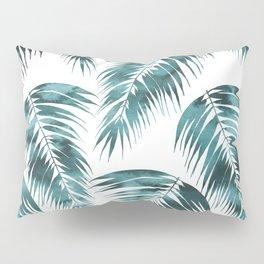 Maui Palm Leaf 2 green Pillow Sham