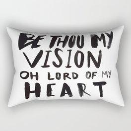 Be Thou My Vision Rectangular Pillow