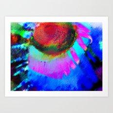 Eye of the Storm Art Print