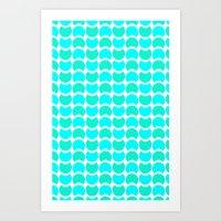 HobNob Sea Large Art Print