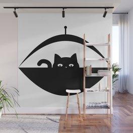 Invasive Species - UFO Cat Wall Mural