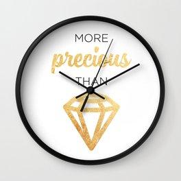 More Precious Than... Wall Clock