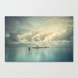 the art of silence Canvas Print