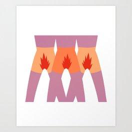 In Sync Art Print