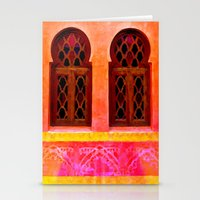 morocco Stationery Cards featuring Morocco  by Xchange Art Studio