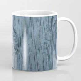 Frosted blue weathered wood Coffee Mug