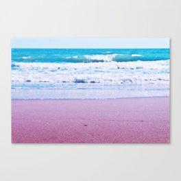 Pastel ocean dreams Canvas Print