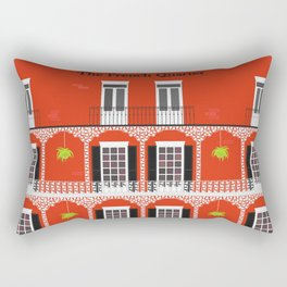The French Quarter  New Orleans Rectangular Pillow