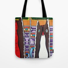 GOOD EVENING and WELCOME to the AIRPORT to ANOTHER DIMENSION Tote Bag