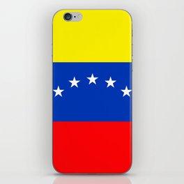 Venezuela flag iPhone Skin