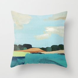 Tuki Tuki II Throw Pillow