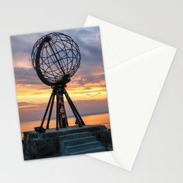 "Nordkapp 71°10' 21"" N  Stationery Cards"