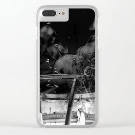 DARK SNARE Clear iPhone Case