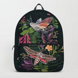 Hummingbird Moth Backpack