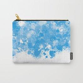paint splatter on gradient pattern bbwb Carry-All Pouch