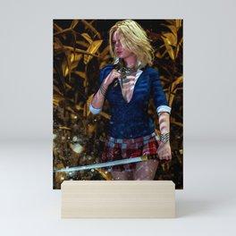 Swordmaster III Mini Art Print