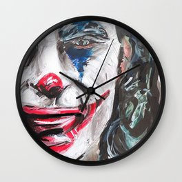 THE PAGLIACCI JOKER Wall Clock