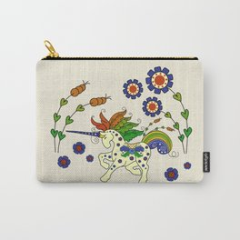 Swedish Unicorn Carry-All Pouch