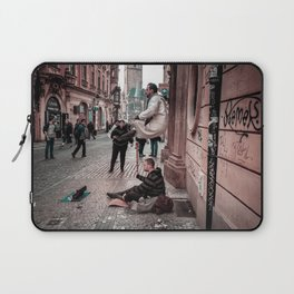 Floating Man Laptop Sleeve
