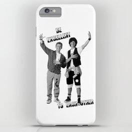 Bill and Ted's Excellent Adventure iPhone Case