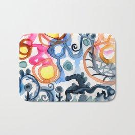 Abstraction Bath Mat